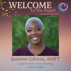 Welcome to the Team - Jasmine Gibson, AMFT