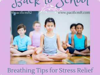 Back to School - Tips for Stress Relief by Amber Keating, LCSW and Clinical Supervisor
