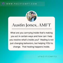 THERAPIST SPOTLIGHT:  Austin Jones, AMFT