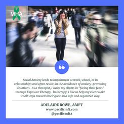 Mental Health Awareness:  Adelaide Rowe, AMFT