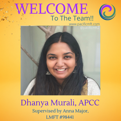 Welcome To The Team: Dhanya Murali, APCC