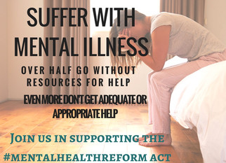 Support the Mental Health Reform Act