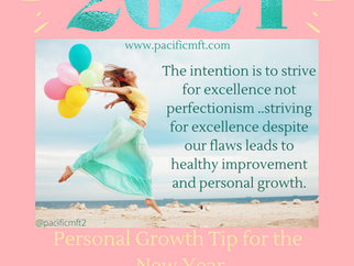 Positive Growth Tip for the New Year