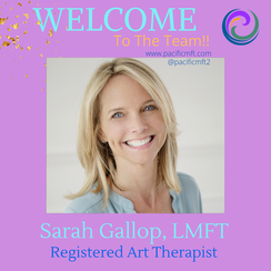 Welcome To The Team: Sarah Gallop, LMFT, ATR