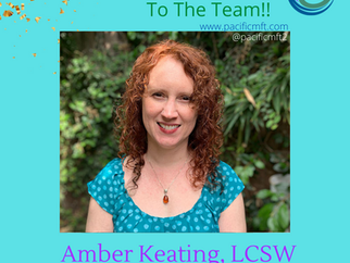 Welcome To The Team: Amber Keating, LCSW and Clinical Supervisor