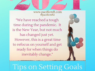2021 - Tips for Setting Goals