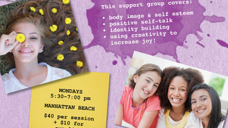 Teen Girl Art Therapy Group in Manhattan Beach