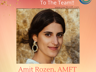 Welcome To The Team: Amit Rozen, AMFT