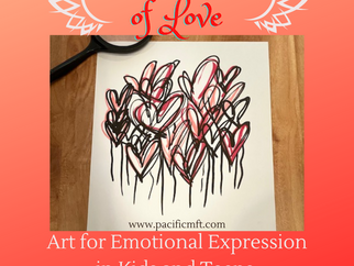 Art for Emotional Expression with Kids and Teens