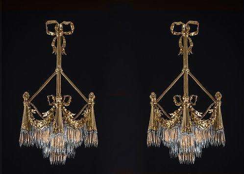 Louis XVI Style Sconses