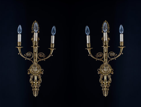 Empire Sconces