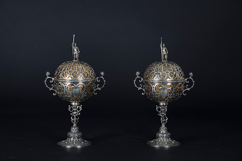 Pair of English Cups