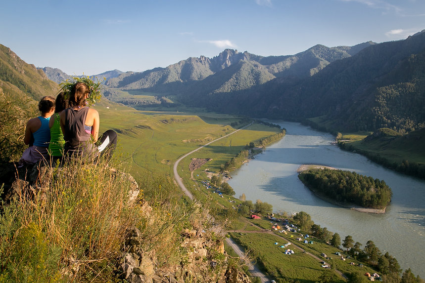 Душевный тур Катунь река