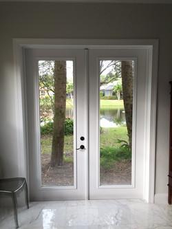 WINDOW TO DOOR CONVERSION