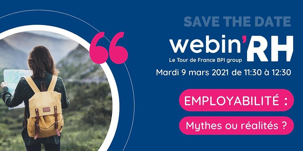 [ Webinar ] Employabilité : mythes ou réalités ?