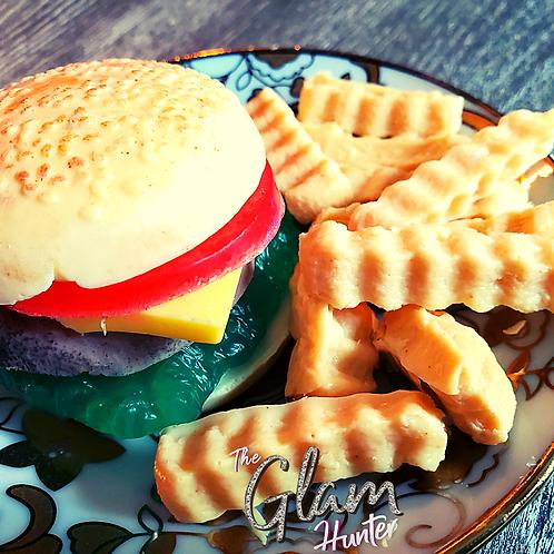 Glam Burger and Fry  Set