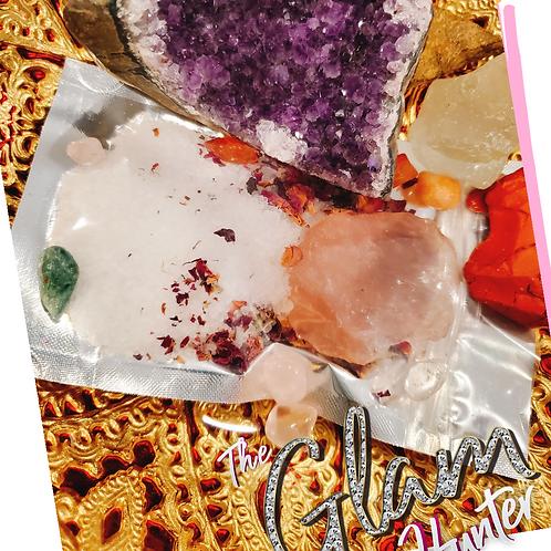Custom Moon Manifestation Crystal Bath Therapy