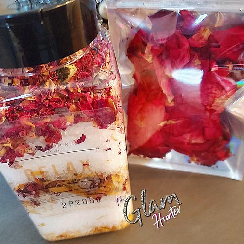 XL 🧖🏽♀️Relax Luxury Rose Petal Sprinkle Cocktail