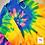 Thumbnail: Custom Luxe🌊Pocketed Beach Comber Tie Dye Hoodie