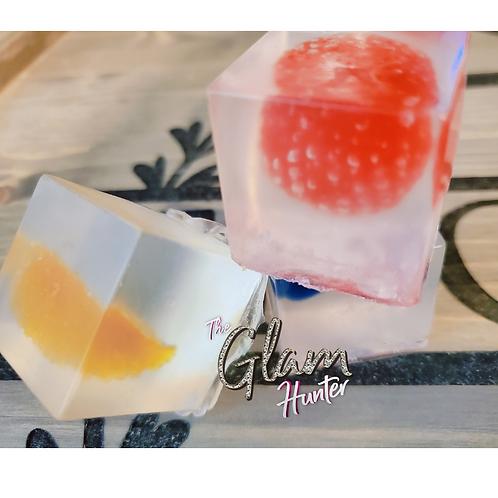Fruit Cubed Soap Set