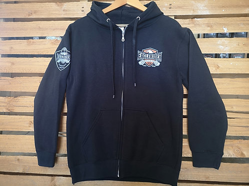 Zip Hoodie - Eaglerider-USA - Flagstaff - front pocket rear full print