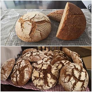 Sourdough Rye Bread German Style