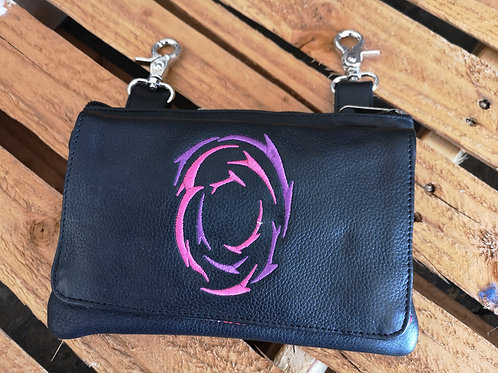 Clip Pouch Women high quality leather