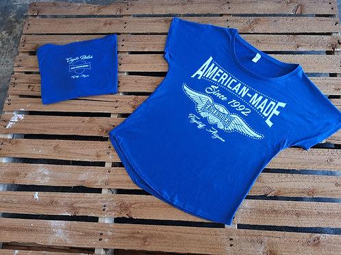 "Eaglerider ""American Made"" T-Shirt royal blue"