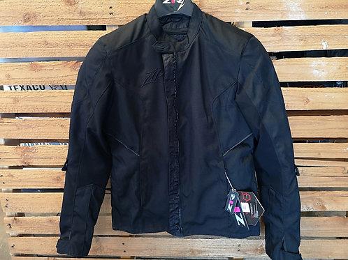 Motorcycle Jacket - Soft-shell Hilon Tech - Zip Off Inlet - black