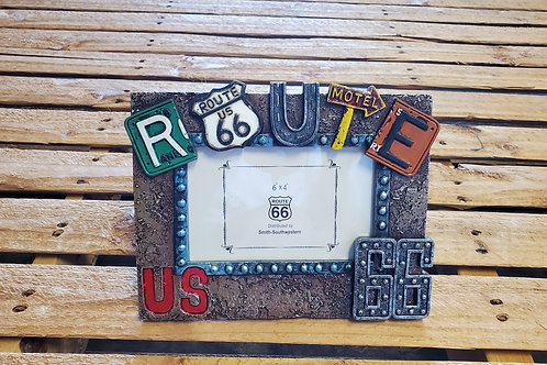 Route 66 Picture Frame Historic R66