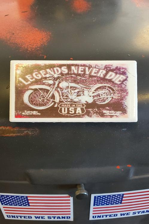 Magnet Tile Harley Legends