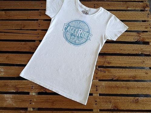 """Eaglerider """"Women' Ride"""" T-Shirt white"""