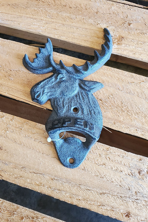 Elk Bottle Opener Metal