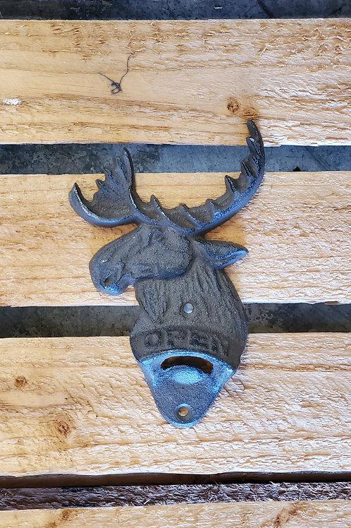 Metal Moose Bottle Opener