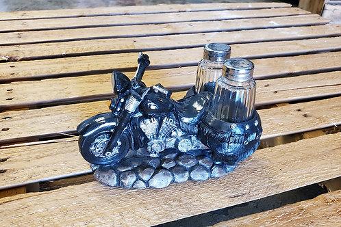 Motorcycle Salt + Pepper