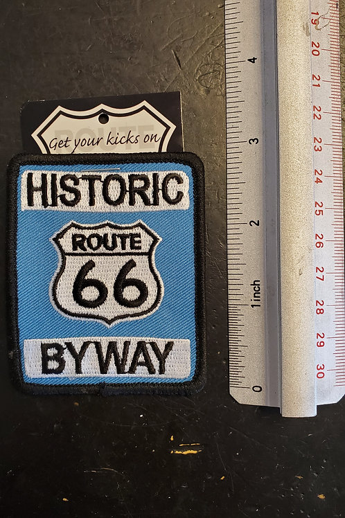 "Patch ""Historic Route 66"" - iron on"