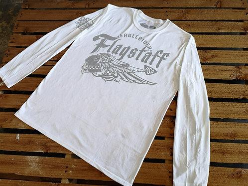 "Flagstaff ""Deadhead"" Eaglerider USA Long Sleeve white"