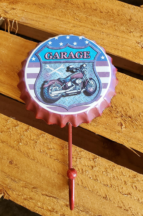 Bottle Lid Hanger Metal Motorcycle