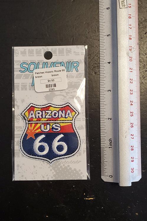 "Patch ""Arizona US Route 66"" - iron on"