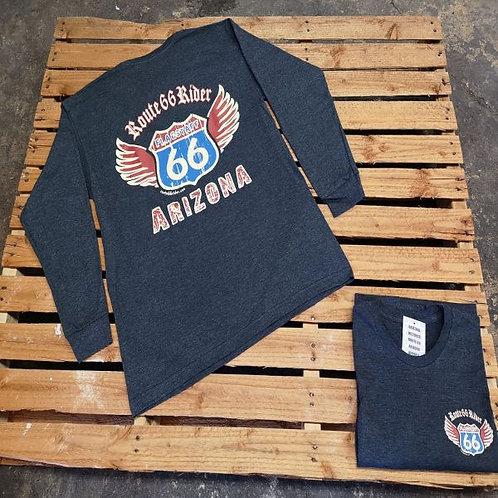 Route 66 Rider Arizona Long Sleeve