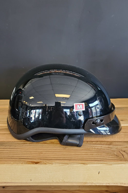 Fulmer Daytona Ranger Half Face Helmet glossy black