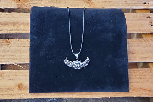 Jewelry Route 66 Wings Stainless Steel