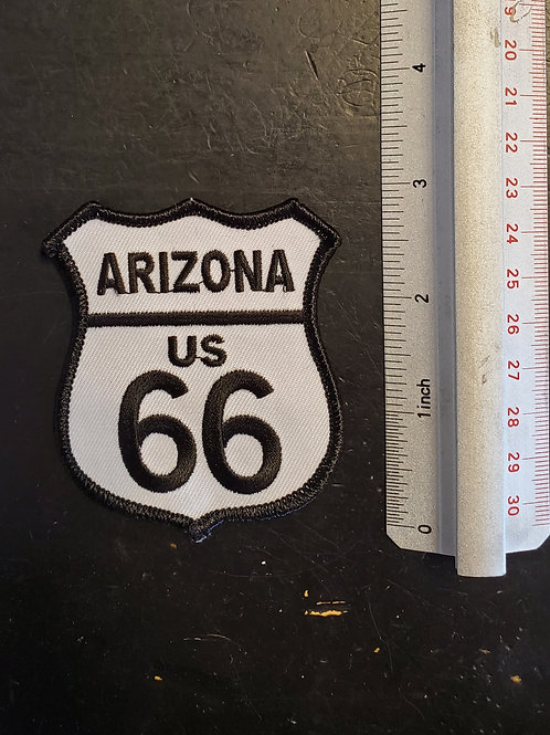 "Patch ""Arizona US Route 66"" - iron on"