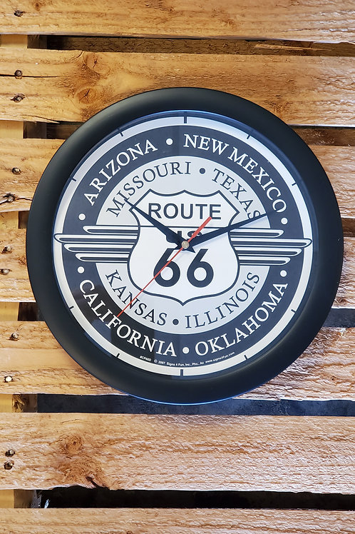 Route 66 Wall Clock all States