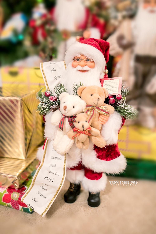 santa with red hat, santas list, christmas list, christmas gift, teddy bears with santa