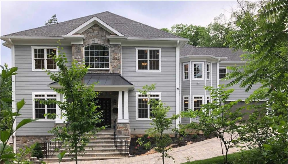 Open house hosted by Yon Chung, Realtor. For sale in McLean Virginia.  New build.  Ready to move in.  Beautifully staged.  Fairfax county and Longfellow middle school and McLean High school district home.
