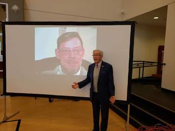 Peace Advocate Rainer Hoess and Holocaust Survivor Ben Lesser