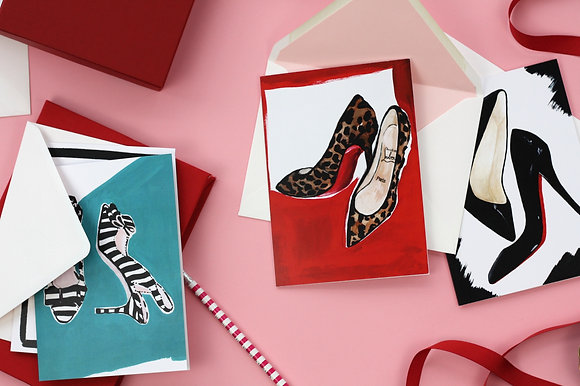 Fashion - Illustrated Greetings Cards