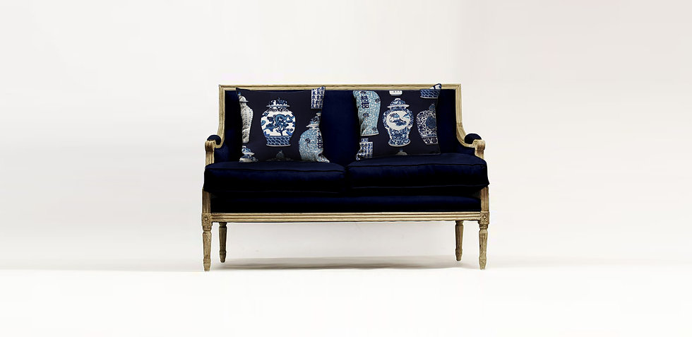 French Settee cushion visual