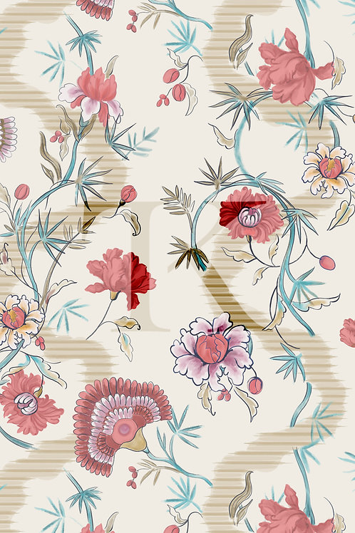 Chintz Print Design